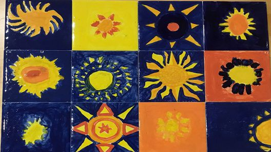 hassocks-infant-school-sun-mosaic-painted-tiles