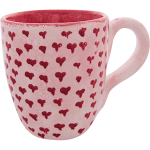 Heart Barrel Mug