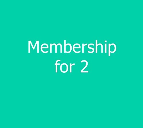 2 Person Family Membership - new