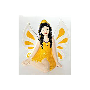 Side Sitting Fairy Figurine (16cm high)
